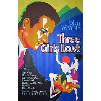 Three Girls Lost Movie Poster (11 x 17)