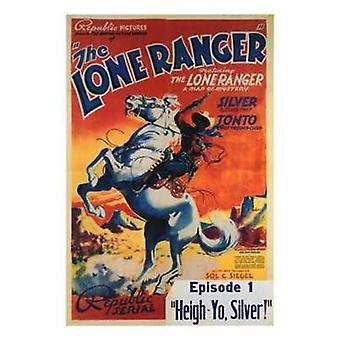 The Lone Ranger Movie Poster (11 x 17)