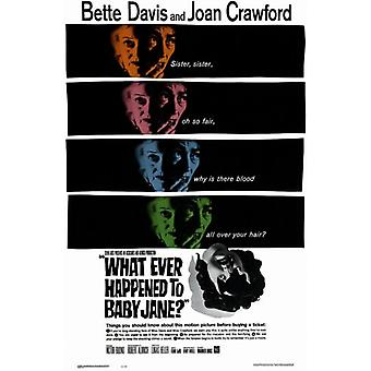 Whatever Happened to Baby Jane Movie Poster (11 x 17)