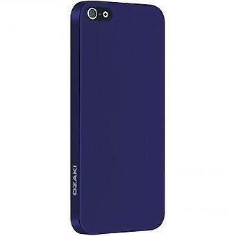 Ozaki O!Coat OC530PU Solid slim 0,3 mm Cover Hülle iPhone 5/5S Lila