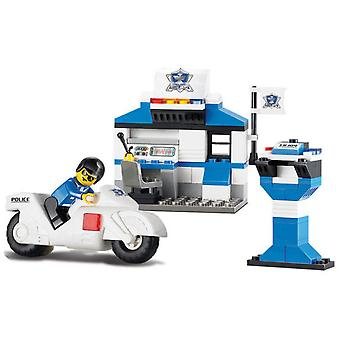 Sluban Police Station Con Moto (Kinderen , Speelgoed , Constructie , Vehicles and ships)
