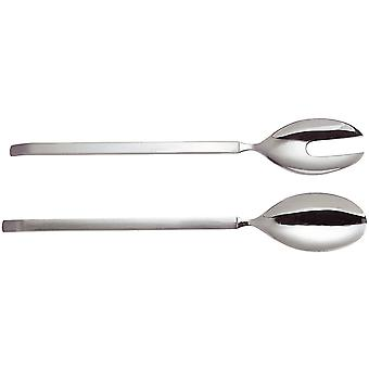 Alessi salad cutlery of dry mat - 4180/14