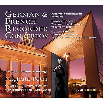Bollon, Fabrice / Petri, Michala / Poppen, Christoph - tysk & franske Recorder Concertos [SACD] USA import