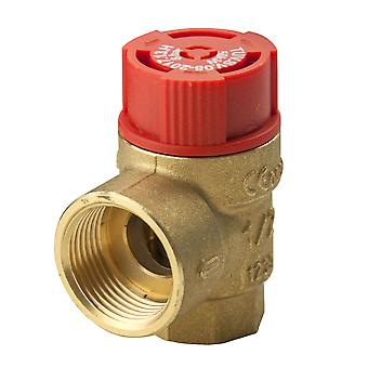 Safety Pressure Release Relief Reducing Valve FxF Female