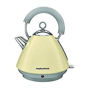 Morphy Richards 102032 Accents Pyramid Kettle in Cream