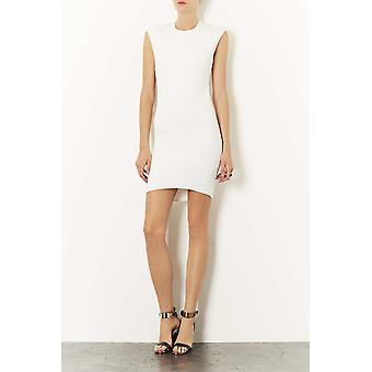 Topshop Diamond Quilt Bodycon Dress