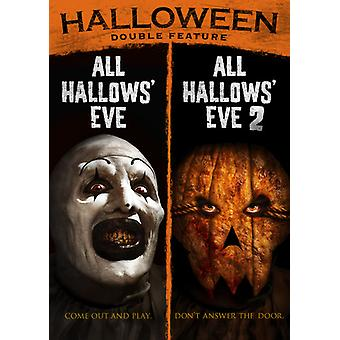 All Hallows' Eve / All Hallows' Eve 2 Double Feat [DVD] USA import