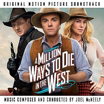 Joel McNeely - Million Ways to Die i West [CD] USA importen