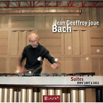 J.S. Bach - J.S. Bach: Suites Bwv 1007 til 1012 [CD] USA importerer