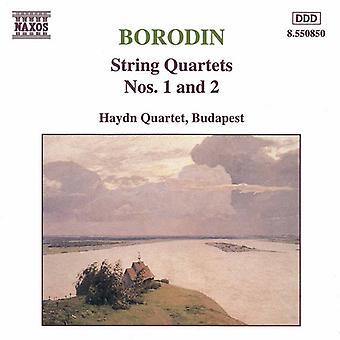 A. Borodin - Borodin: Streichquartett Nr. 1 und 2 [CD] USA import