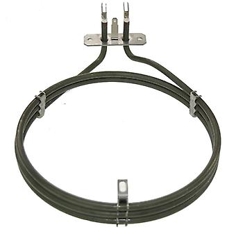 Zanussi Replacement Fan Oven Cooker Heating Element (2000w) (3 Turns)