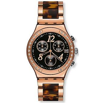 Swatch DREAMNIGHT 14 ROSE Mens Watch YCG404GC