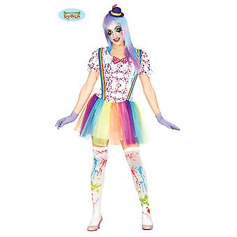 Clown costume Clownkostüm ladies costume one size