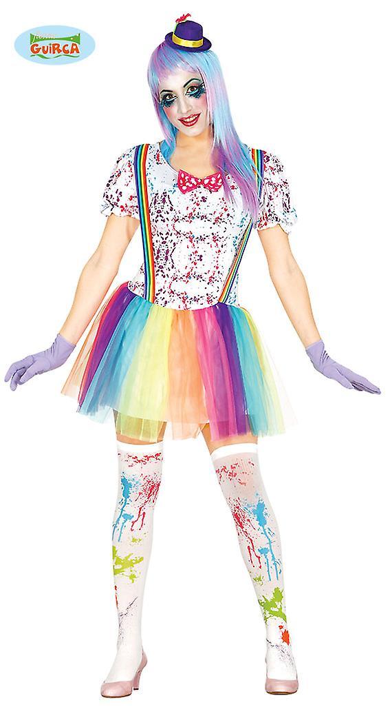 Clown costume Clownkostüm ladies costume one size
