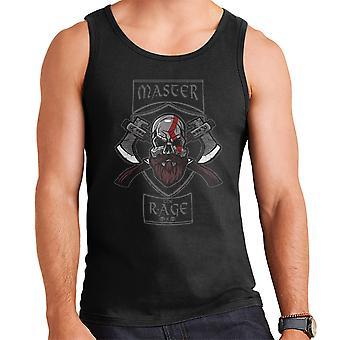 Master The Rage Kratos God Of War Men's Vest