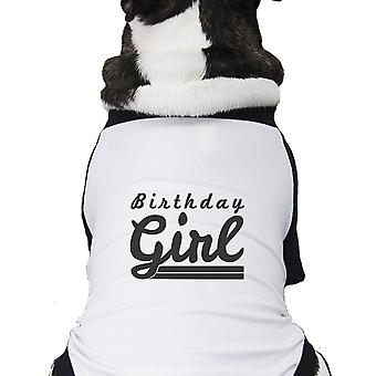 Birthday Girl For Pet Birthday Gifts Funny Graphic Pet Tee Shirt