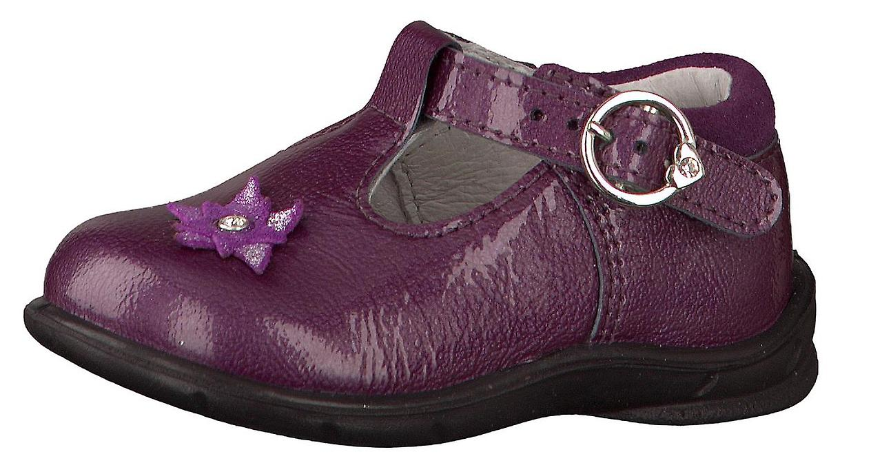 Ricosta Pepino Girls Winsy Purple Patent T-bar Shoes