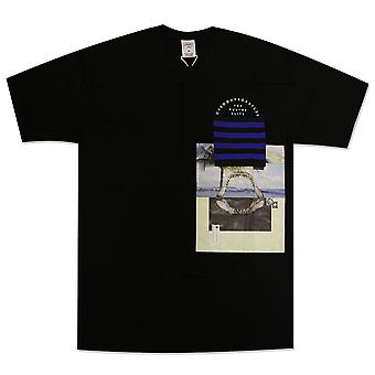 Crooks & Castles Merz Pocket T-Shirt Black