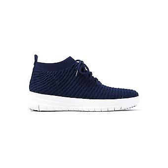 Uberknit Waffle alto Top Trainer donne - Midnight Navy