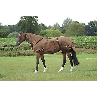 QHP Eczema Blanket Brown (Horses , Horse riding equipment , Bed covers , Others)