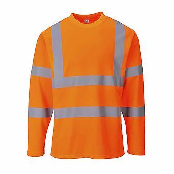 Portwest - Hi-Vis Safety Workwear Long Sleeved T-shirt