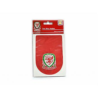 Wales Official Football Tax Disc Holder