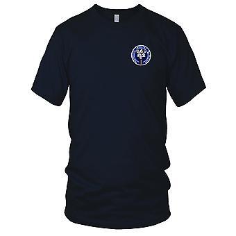 Batalion Piechoty US Army spadochron - 542nd haftowane Patch - Panie T Shirt