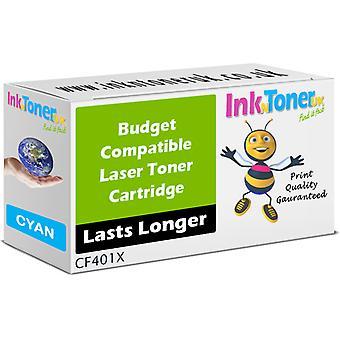 Zgodne 201 X Cyan CF401X Toner do HP Colour LaserJet Pro M252dw