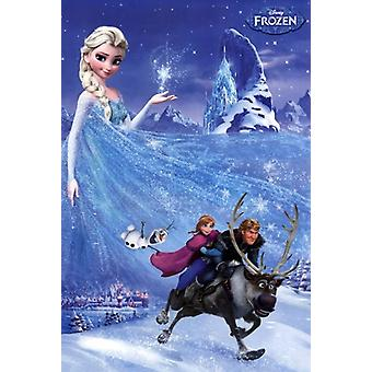 Frozen - One Sheet Poster Poster Print
