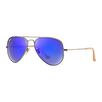 Ray - Ban Aviator Large Flash copper/blue mirrored