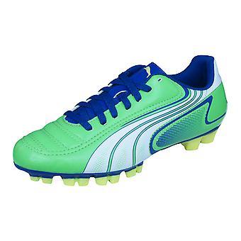Puma V6.11 GC Jr jongens voetbal laarzen / schoenplaatjes - groen