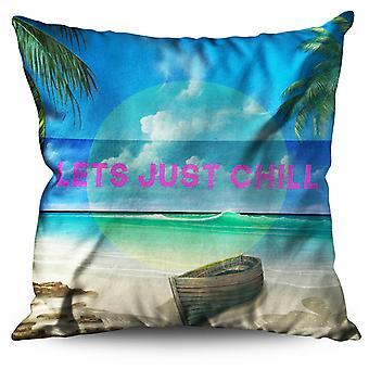 Chill Palm Travel Linen Cushion Chill Palm Travel | Wellcoda