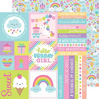 Fairy Tales Double-Sided Cardstock 12