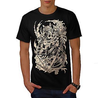 Dood paard botten mannen gekleedinzwartet-shirt | Wellcoda