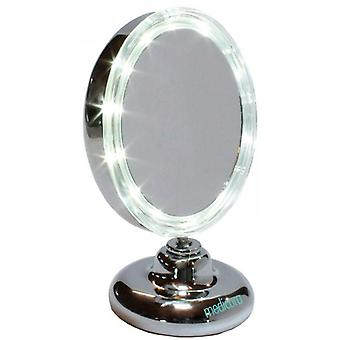Mirror 5 x with Led and support articulated 125 mm. ARM316