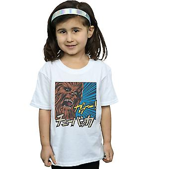 Star Wars Girls Chewbacca Roar Pop Art T-Shirt