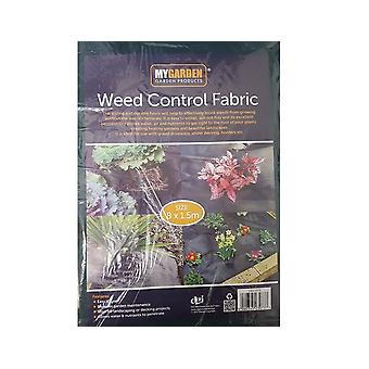 My Garden 8m x 1.5m Weed Control Garden Ground Mats Cover Sheet Fabric