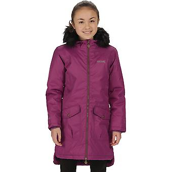 Regatta Boys & Girls Hollybank Waterproof Insulated Parka Coat Jacket
