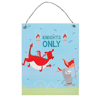 Something Different Knight Adventure Metal Sign