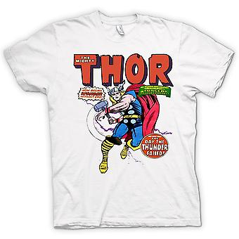 Womens T-shirt - Mighty Thor - Comic Super Hero