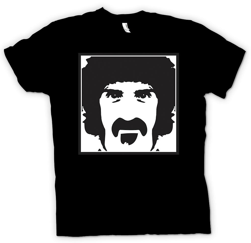 Womens T-shirt - Frank Zappa Portrait - Music
