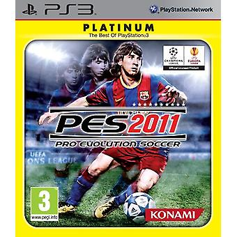 Pro Evolution Soccer 2011 - Platinum editie (PS3)