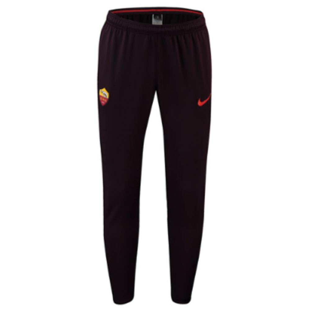 2018-2019 AS Roma Nike Squad Training Pants (Bourgogne)
