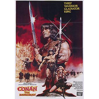 Conan the Barbarian Movie Poster (11 x 17)