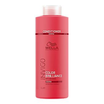Wella Invigo Color Brilliance Coarse Vibrant Color Conditioner 1000ml