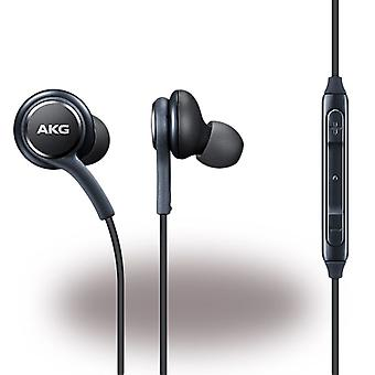 Original bulk AKG EO-IG955 headset ear black, Galaxy S10 S10e S9 S8, plus, S7, S6, edge, grade 8, grade 9