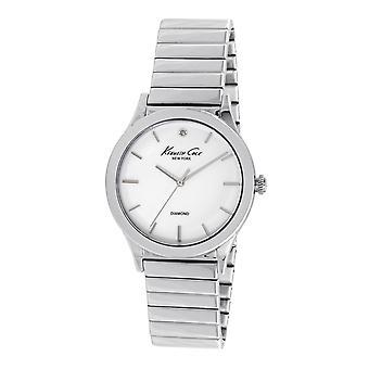 Kenneth Cole New York Damen-Armbanduhr Analog Quarz Edelstahl 10024370