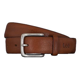 Cinturones de hombre Lee cinturones cuero Cognac correa 5422
