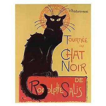 Tournee Du Chat Noir Poster Print von Théophile-Alexandre Steinlen (20 x 28)