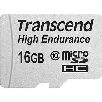Transcend adaptador de incl. SD de clase 10 de alta resistencia microSDHC tarjeta de 16 GB